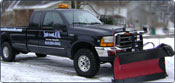 Our fleet of F-350 trucks and BOSS plows are ready to take on the hefty task of eliminating snow this year