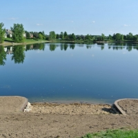 2012 on a man-made Lake in Ann Arbor project