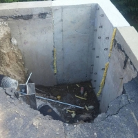 Concrete wall repair in Commerce Twp, MI
