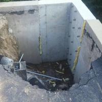 Concrete wall repair in Commerce Twp, MI