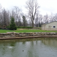 Repair of Existing Ledge-rock retaining wall in Lake Orion