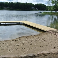 Pic #4 Dock angle of Milford, MI 2014 Project