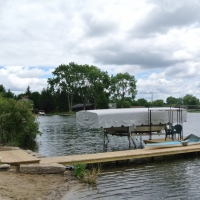 Pic #1 View of Permanent Dock project in Wixom, MI
