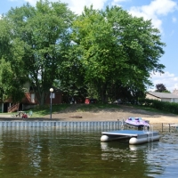 Lake Sherwood 360' x 3' seawall with inlet in Commerce Twp, MI
